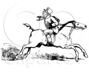 backward riding