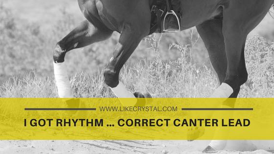 I Got Rhythm … Correct Canter Lead