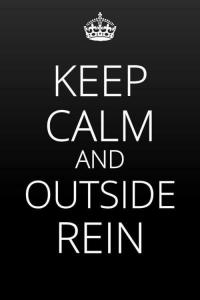 Outside Rein