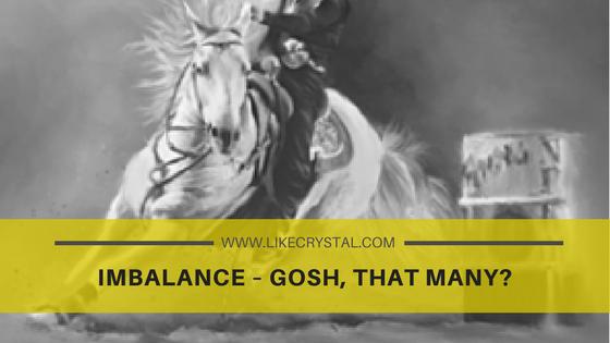 Imbalance – Gosh, that many?