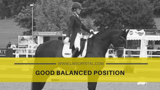 Good Balanced Position