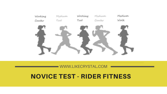 The Novice Test – Rider Fitness