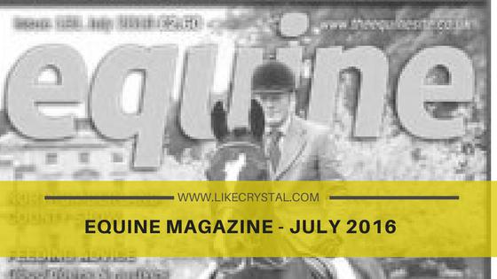 Equine Magazine – July 2016